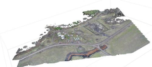 iКомплекс проектно-изыскательских работ по нефтегазовым объектам. 3D модель