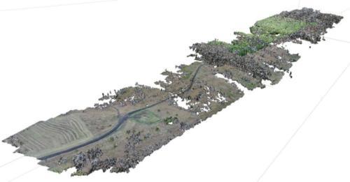 Комплекс проектно-изыскательских работ по нефтегазовым объектам. 3D модель